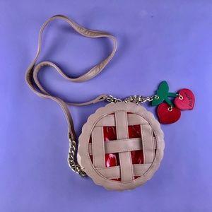 Betsey Johnson Pie Crossbody Bag / Purse